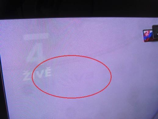 how to fix screen burn on led tv